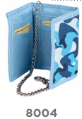 Camouflage Print Trifold Wallet Photo