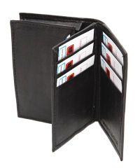sheep nappa tri fold wallet photo