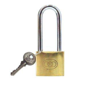 tri circle padlocks long shackle photo
